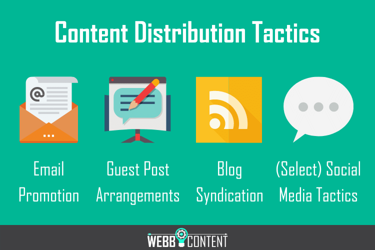 4 tactics showcasing why content is king but distribution is queen.